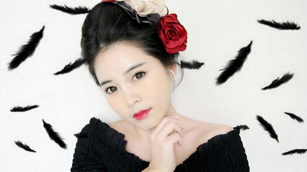 【面面彩妆】忧郁的黑天鹅,我的幻彩迷情之旅