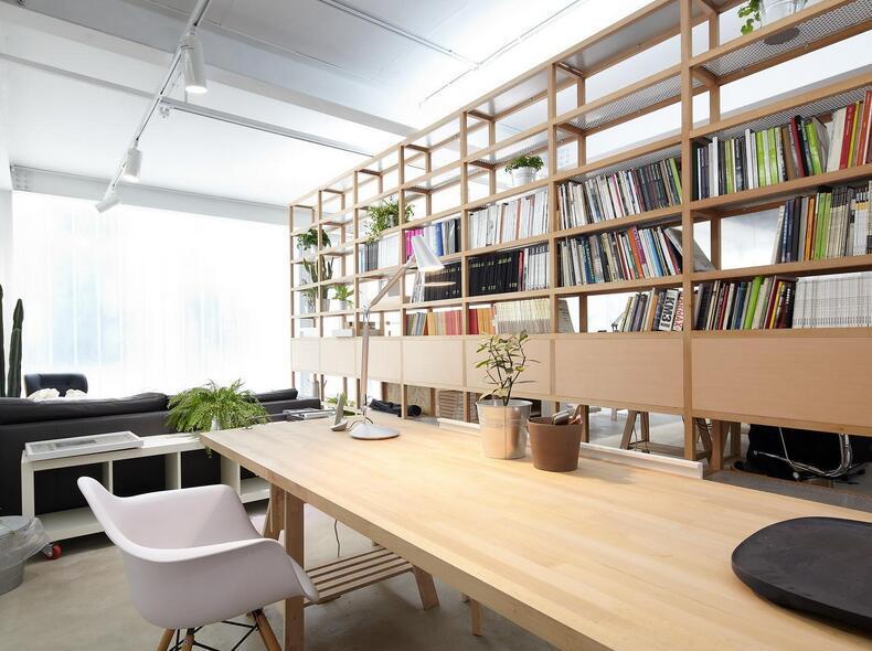 模仿电视剧里的一些很有设计感但不适合自己家的书柜