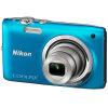 NIKON COOLPIX S2700 Портативная цифровая фотокамера Silver (1602 мегапиксела 2,7-дюймовый экран 6-кратный оптический зум широкоугольный широкоугольный)