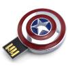 Дисней (Disney) The Avengers Iron Man 3 USB творческий мультфильм U диск 8G подарок подарок Captain America pg8017 super heroes avengers movie scorpion sdcc captain america stan lee building blocks model children bricks toy