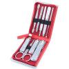 777 Набор ножей для ногтей Набор для зажима для ногтей 9шт. Набор TS-970C Phantom Red (импорт)