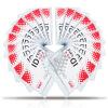 (Deli) 5752 Мягкие карточки сертификатов ПВХ / разрешение на работу / карточка служащего горизонтальная 50 / коробка (синий) bagsberry bagsberry 5752