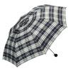 Рай зонтик 325E пряжа окрашенные сетки анти-УФ сильный водоотталкивающий отбрасывание три раза ультра-легкий зонтик синий белый сетка