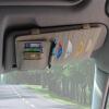 [супермаркет] Jingdong автомобиль поцелуй папку полный кожаный автомобиль козырек клип автомобиль CD бежевый универсальные диски