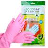 Shang остров Икеа (sodolike) толщиной латекса перчатки для чистки л Количество (цвет случайный)