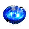 Разгон три (PCCOOLER) Bluebird 4 смарт-версия радиатора процессора (многоплатформенный / интеллектуальный контроль температуры / 9CM синий свет немой вентилятор / удар / с силиконом) bluebird