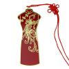 Shaoxing Culture Китайский стиль Творческие закладки - Cheongsam День рождения Поздравительная открытка День учителя Рождественские творческие подарки Бизнес-подарки