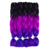 SZC Afro Jumbo Braids Наращивание волос 5-pack 2 Tone & 3 Tone Ombre Вязание крючком для волос с высокой температурой Kanekalon Sy