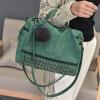 DALFR PU Кожаные сумки для женщин Твердая мода Роскошные сумки Женские сумки Дизайнер Топ-ручка Сумки Messenger Знаменитые бренды