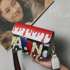 DALFR Leather Shoulder Bag Women Pu Colorful Spray Painting Crossbody Bags for Women Designer Bags Famous Brand Women Bags 2017 2017 fashion big women canvas hand bag ladies shoulder bags handbags women famous brands men large captain casual tote bags sac