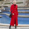DF · RS Осеннее и зимнее длинное толстое пальто из хлопка с мягким пальто длиной до колена пальто katerina bleska