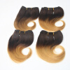 New Hot Shelling Brazilian Hair 6 Inch 4Pcs/Lot Body Wave Hair Ombre Color 100% Human Hair Extensions 15 6 inch new 100
