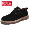 Nanjiren мужская классическая уличная противоскользящая износостойкая обувь, Мартин сапоги британского моды