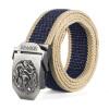 Hanmeng HONMENG мужская автоматическая пряжка пояса ремня для ремня 924 - синие полоски дракона 120