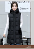 Жакет из хлопчатобумажной жилетки 2017 осень и зима новая корейская версия Тонкий в длинном разрезе перламутровый мозаичный жилет меховые жилетки на авито в москве