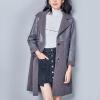 Город плюс CITYPLUS 2017 зима новый литературные дамы диких овечьей шерсти пальто шить длинный отрезок шерстяное пальто CWWT179568 серый L