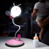 LED Bee Light Cartoon Children's Gift Night Light Touch Атмосфера прикроватная лампа 0.8W G22 usb rechargeable touch sensor led cartoon birdcage night light