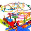 Bain Ши (beiens) образовательные детские игрушки блоки электропоезд трек 3388 сочетание оборудования детские игрушки