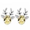 Австрийские кристальные серьги Модные ювелирные изделия для женщин Высокое качество Серьги с бриллиантами для вечеринки Рождественский подарок .6488