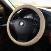 MUBO кожаный руль рулевого колеса дышащий пот противоскользящее покрытие рулевого колеса машина не dashboard площадку телефон владельца липкими и мат мобильных держатель противоскользящее черный
