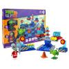 Zombies 2 игрушки пластиковые строительные блоки собраны подраться вставлено запуска головоломки игрушки для детей мальчиков и девочек мини-сцена - Future World игрушки для детей