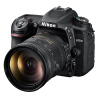 Никон (Nikon) D7500 зеркальные комплект (AF-S DX NIKKOR 18-200mm F / 3.5-5.6G ED VR стабилизация изображения линзы) nikon 24 70mm f 2 8g ed af s nikkor