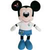 Disney Disney плюшевые игрушки Новое пространство вышивки хлопка белый ковбой Микки кукла куклы Валентина подарок на день рождения девушки куклы S-1 disney гирлянда детская на ленте тачки с днем рождения