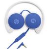 Hewlett-Packard (HP) H2800 встроенный микрофон гарнитуры телефон гарнитуры проводные гарнитуры синий планшетный компьютер гарнитура hp h2800 белый f6j04aa