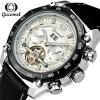 Мужские часы Лучшие бренды Роскошные автоматические часы Черный календарь Часы Мужские механические часы