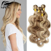 Nami Hair Piano Color 3 Bundles #8/613 Brazilian Body Wave Human Hair Extensions 14-26 Hair Weave Free Shipping best new product on sale 30% 750ml brazilian keratin hair treatment hair free shipping