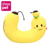 Sheepet Kawaii Плюшевая подушка Cute Banana U-Shape Sleeping Cushion Gift 1pc 65cm cartion cute u shape pillow kawaii cat panda soft cushion home decoration kids birthday christmas gift