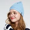 LACKPARD Женская зимняя лыжная кепка Трикотажная шляпа осенне-зимняя теплая головная шляпа женская шляпа