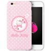 все цены на Hello Kitty Apple, 6 / 6с телефон оболочки iPhone6 / 6с мультфильма все включено защитный рукав силикона мягкая оболочка Выдерживает падение 4,7 дюйма гирлянда Hello Kitty онлайн