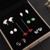 Luo Linglong s925 sterling silver week ear earrings gift box female earrings retro ear line anti-allergic birthday gift linglong d905 215 75r17 5 135 133l tl