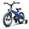 Ninebot Детский велосипед Дети Велосипед Мужчины Спорт Дети Детские мальчики Велосипед 14 дюймов Синий trolo самокат rapid синий