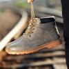 досуг и высокой вырезать, plat пу кожаные сапоги, мужские ботинки