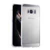 Роскошный чехол для Samsung Galaxy S8 Plus Алюминиевый бампер + акриловая панель Назад Глянцевая обложка для Samsung S8 Plus оригинальный samsung galaxy s8 s8 plus nillkin 3d ap pro полноэкранный экранный протектор экрана