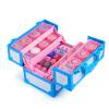 Дисней (Disney) девочка костюм детской косметика макияж косметических коробки многофункциональный льда принцесса чемодан D22354C