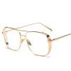 дамы моды очки кадр женщин бренд золото черный квадратный рамы очки боковые щит мужской женщины vogue vogel стильный и элегантный синий кадр очки кадр полный кадр оптических оправ vovo3999 998s 52мм