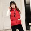 2017 осень и зима новый жилет хлопок жилет женский свободный жилет короткий пиджак корейский дикий без рукавов хлопок одежда зима