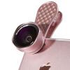 Новизна (LIEQI) LQ-048 мобильный телефон рыбий глаз широкоугольный объектив макро три-в-костюме Apple, iphone Huawei селфи внешние зеркальные камеры лепесток розы типа золота зеркальные панели в рулонах