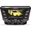 Rexing D800 car dvr camera dash cam скрытый регистратор видеорегистратор автомобильный детектор Установить за зеркалом заднего вида/ WIFI версия