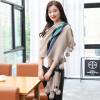 Shanghai Story (история SHANGHAI) г-жа теплые осенние и зимние шарфы толстые темно-зеленый платок