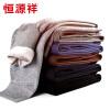 Хенг Юань Xiang, мужские теплые брюки шерсть модальные колено леггинсы темно-серые шерстяные брюки 170/95 brioni шерстяные брюки серые