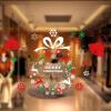 Эва Лав Новый год окно окно Рождество стикер стены стеклянные двери стикеры наклейки украшения расположены Модели одежды D