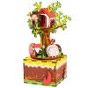 Если состояние детских рождественских подарков ручной работа трехмерной головоломка собранной деревянные музыкальной шкатулки - Whisper 408 the whisper