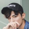 Yuzhao Lin YUZHAOLIN шляпа мужской корейской версии колпачок моды простой солнцезащитный крем шляпу женские буквы бейсболки NY письма