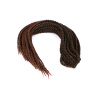 18/24 inch Ombre Crochet Box Braids Synthetic Braiding Hair Extensions African Hairstyles Crochet Braids mannequin head african american afro hair with manikin for practice styling braiding
