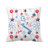 USA Candy Flower Star Love Heart Word Square Throw Pillow Insert Cushion Cover Home Sofa Decor Gift