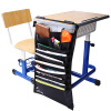 Deli (гастроном) 72365 многофункциональные регулируемые столы студент книги мешочке повесить сумку / стойку / висит книги сумки черный столы